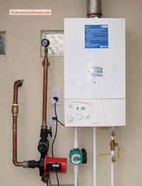 Calderas radiadores piso y loza radiante instalacion y for Calderas de lena para radiadores de agua