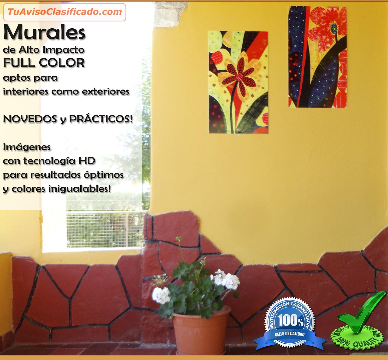 Murales modernos para interior y exterior vanguardia Murales decorativos para exteriores