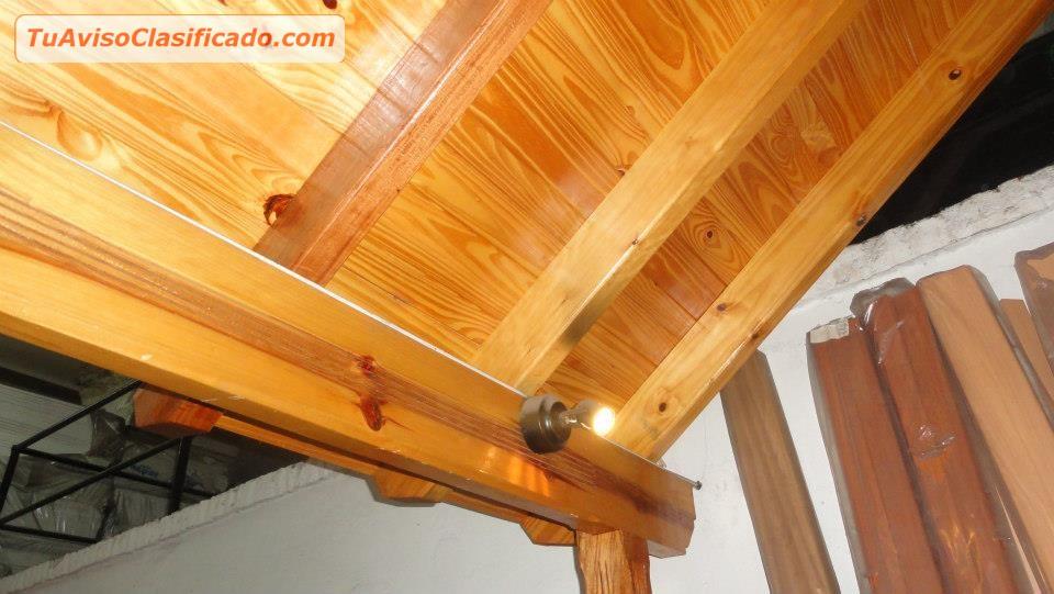 maderas e insumos para techos encofrados tiranterias y listoneria para obras