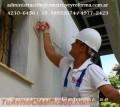 APLICACION DE REVESTIMIENTOS PLASTICOS EN VILLA DOMINICO