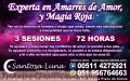 VIDENTE, EXPERTA EN AMARRES DE AMOR Y MAGIA ROJA - SANTOSA LUNA