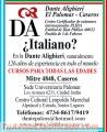 Escuela de Italiano, Caseros- Palomar. Dante Alighieri