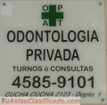 CONSULTORIO ODONTOLOGICO en PATERNAL