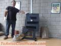 Calefactor Estufa A Pellet 10000 Kcal No Gas Ni Electricidad