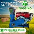Peletizadora Meelko 150 mm 8 hp DIESEL