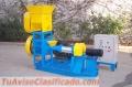 Extrusoras Meelko para alimentación de peces 150kg/h - MKED060C