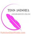 Asesoría de tesis, tesinas, TIF, monografías y TP