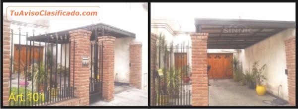 Techos de policarbonato pergolas aleros techos para for Stima del costo del garage gratuita