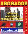 ABOGADOS LABORALES, TRABAJO EN NEGRO, DESPIDOS, ACCIDENTES, EN CAPITAL FEDERAL, ZONA ONCE