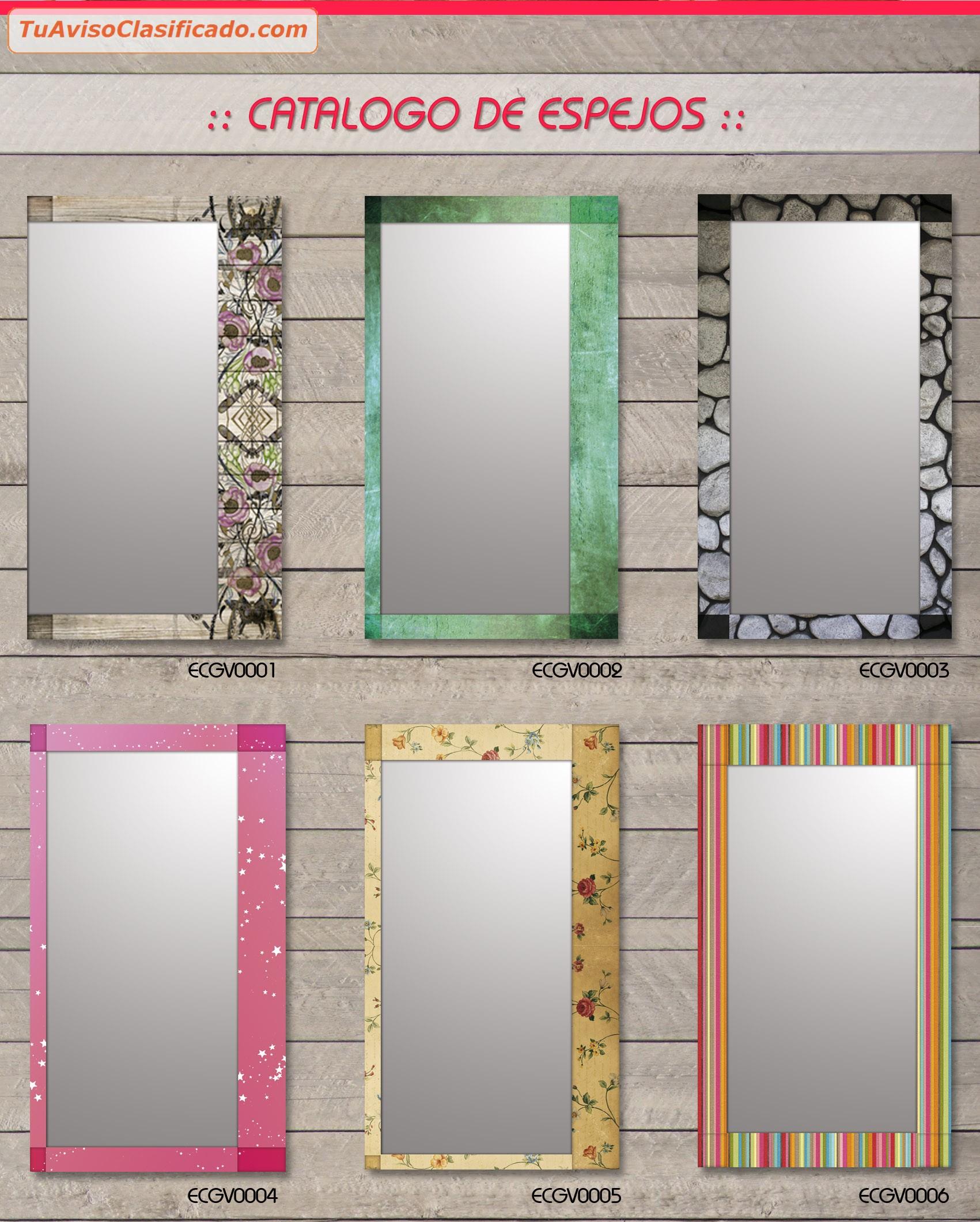 Marcos Para Espejos Modernos. Top Simple Mirrors Ofrece Espejos ...