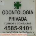 ODONTOLOGOS,  Dentistas  PARTICULARES en La Paternal CABA
