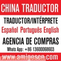 Interprete traductor chino espanol en shenzhen hong kong china